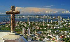 La Popa, veduta su Cartagena