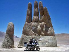 Atacama desert: Hand in the desert