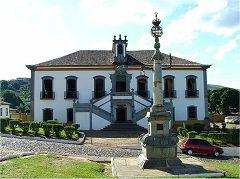 Mariana, piazza Minas Gerais