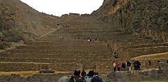 Ollantaytambo: terrazze di Pumatallis