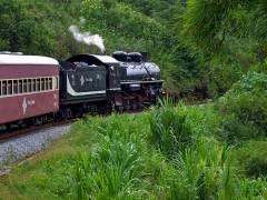 Il treno a vapore del Minas Gerais