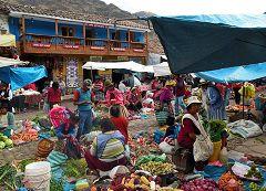 Pisac: mercato