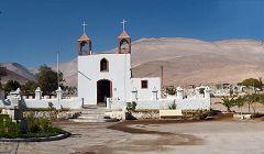 Poconchile: Iglesia San Gerónimo