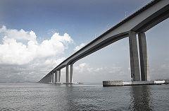 Il ponte che collega Rio e Niteroi