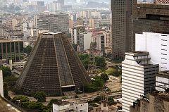 La cattedrale Metropolitana (Sao Sebastião)
