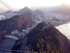 Tramonto su Rio