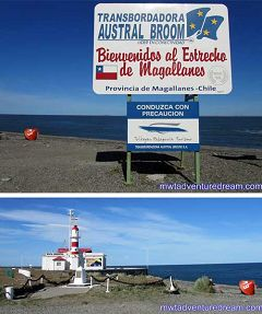 Cile: Stretto di Magellano