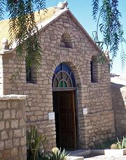 Toconao: chiesa