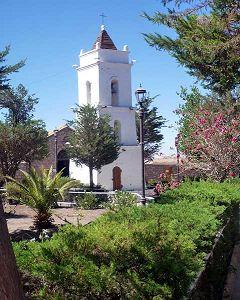 Toconao: campanile