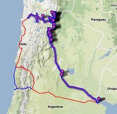 Tour in moto Argentina-Cile